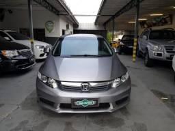 HONDA CIVIC 1.8 LXS 16V FLEX 4P MANUAL 2012 - 2012