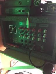 Cabeçote - amplificador - potência