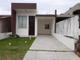 Casa 02 dormitórios com pé direito alto condições de pagamento