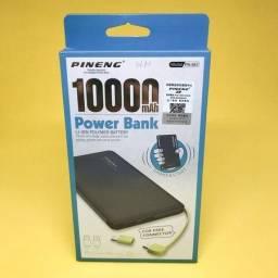 Bateria p/ Cell portátil 10.000mah Produto Lacrado