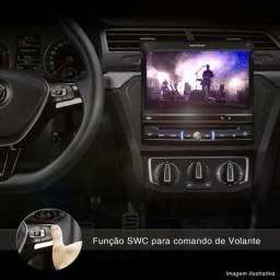 "DVD Player Automotivo Pósitron SP6300AV 1 Din 7"" Retrátil Touch Screen USB"