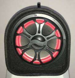 Caixa De Som Bluetooth Subwoofer Amplificada 100w Rms Grasep BH2201 Nova na Caixa Caixa d