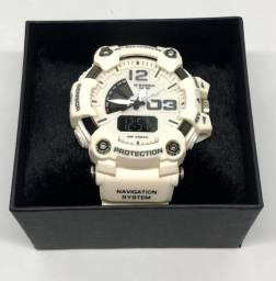 Relógio Casio G-shock GA-700 Com Pulseira e Caixa Pérola Com Garantia Produto Novo