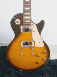 Guitarra Shelter Nashville(Les Paul) + amplificador Meteoro Nitrous