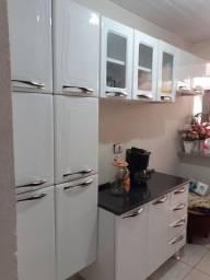 Cozinha em aço branco Itatiaia  4 pecas