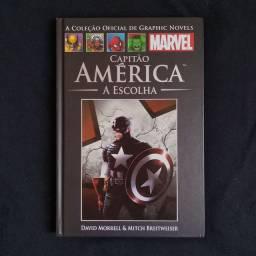Capitão América 'A Escolha' (Vol. 55) - HQ Marvel Coleção Oficial de Graphic Novels