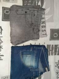 duas calça jeans por 40 reias