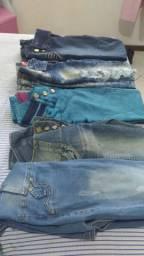 Vendo calças jeans e macacão jeans