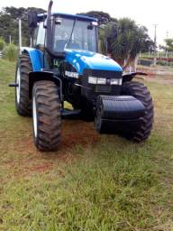 Trator New Holland T.M 165 Relíquia