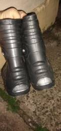 Bota curta para roupa de chuva NOVA - nunca usada