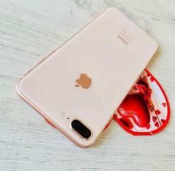 Iphone 8 plus gold ( troque de iphone )