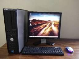 Computador Dell completo core2duo monitor 17 comprar usado  Belo Horizonte