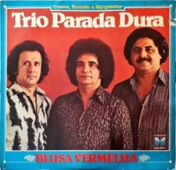 """LP Trio Parada Dura """"Blusa Vermelha"""" 1980"""