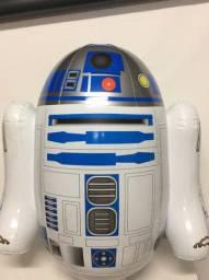 Título do anúncio: Robo star wars r2d2 controle remoto 60cm