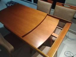 Mesa elástica JMarcon + cadeiras