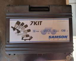 Kit Microfone para bateria SAMSON 7kit