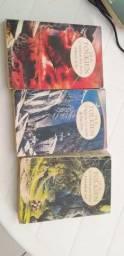 Trilogia Senhor dos anéis: três livros sequênciais