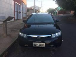 Honda civic lxs 1.8 2008 flex completo ( couro )