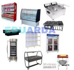 Balcão, Freezer, Refresqueira, Geladeira 2, 3, 5 portas, Equipamentos de mercados etc