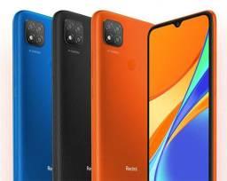 Celular Redmi 9C Azul ou Cinza 64GB Lançamento
