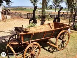 Carroça de burro antiga