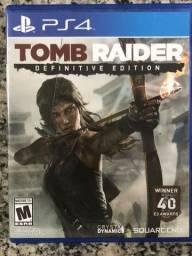 Coleção TOMB RAIDER - PS4