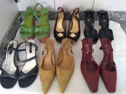 Sapatos Claudina, Luz da Lua, Schutz, Ramarim, Boot&Co - Oportunidade