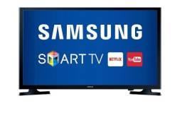 Smart tv led 32'' com defeito em tela