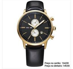 Relógio masculino importado original Weide luxo exclusivo