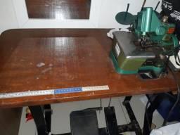 máquina oveelok já com mesa