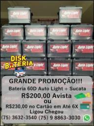 Bateria 60D Autolight + Sucata