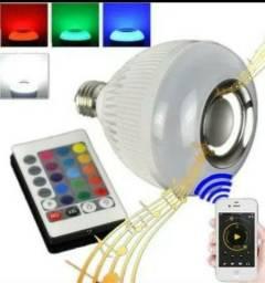 Lâmpada com som Bluetooth