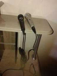 2 Microfones  (Não faço entregas)