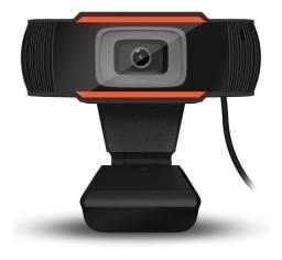 Webcam com microfone (Skype, aulas, lives etc.)