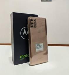 Motorola G9 Plus 128GB Ouro Rosa - Novo - Loja Niteroi