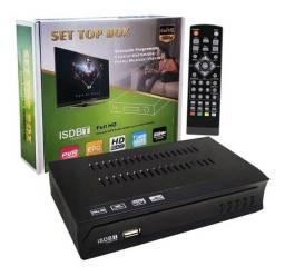 Conversor Digital Hdtv De Tv Set Top Box C/ Gravador