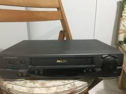 VHS vídeo k7 Philips 6 cabeças