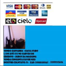 Guitarra+caixa cubo