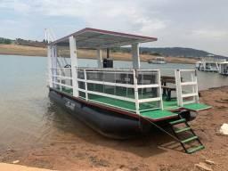 Alugo Batelão Alugo Flutuante Lago das Brisas