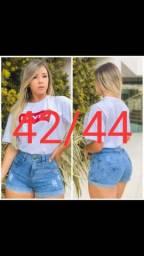 Short sem laycra no 44