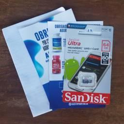 Cartão de memoria 64GB SanDisk