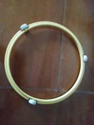 Base giratória para prato de micro ondas