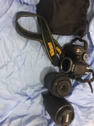 Nikon D3100 duas lentes com bolsa