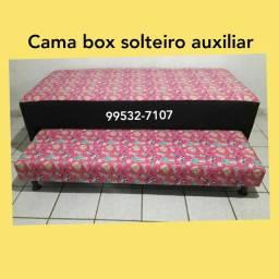 CAMA BOX SOLTEIRO AUXILIAR (DIRETO FÁBRICA ) FRETE GRÁTIS