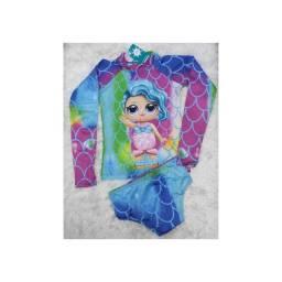 Roupa infantil com proteção UV
