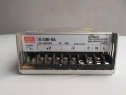 Fonte S-350-5A 5V 60A