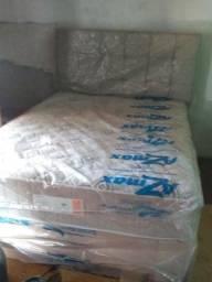 Vende-se  cama box casal  Azmax colchões