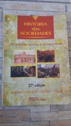 Livro Histórias da Sociedade