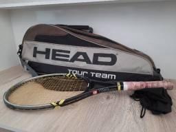 Vendo 1 Raquete de Tênis + 1 Bolsa Raqueteira