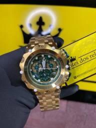 Relógio Invicta VENOM HYBRID fundo - Verde